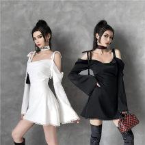 Dress Winter 2020 Black, white, black first batch, white first batch, black second batch, white second batch XS,S,M,L