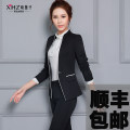 Professional pants suit Gray, black, gray suit + pants, black suit + pants, gray suit + pants + shirt, black suit + pants + shirt S. M, l, XL, XXL, XXXL, other sizes Winter 2016, autumn 2016 Shirts, coats, other styles Long sleeves trousers 25-35 years old