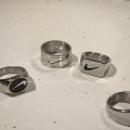 Ring / ring Titanium steel 10-19.99 yuan Other / other Europe and America other