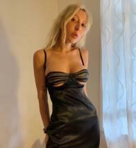 Dress Summer 2020 black XS,S,M,L