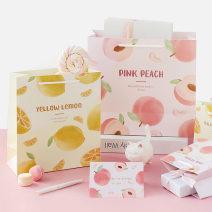 Gift bag / plastic bag Peach - small, peach - medium, peach - large, lemon - small, lemon - medium, lemon - Large Jumeng love