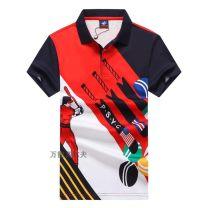 Golf apparel Blue, red M,L,XL,XXL,XXXL male SHARK t-shirt