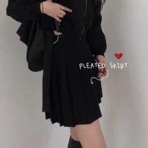 skirt Spring 2020 S,M,L Black, black with safety pants