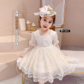 Dress Beige princess skirt, princess skirt + top hat female Neon workshop The recommended height is about 110cm for Size 110, 90cm for Size 90, 100cm for size 100, 110cm for Size 110, 120cm for Size 120 and 130cm for Size 130 Other 100% summer Korean version Long sleeves other Princess Dress B118