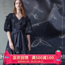 Fabric / fabric / handmade DIY fabric blending [Note: watermark painting technology of imported materials], [please take: 1 piece = 0.1 m long * 1.5 m wide] Loose shear piece Others other clothing Europe and America HAODUO