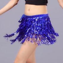 Belly Chain Bellyqueen / Dancer Tassel waist chain Silver, black, rose, pink, gold, treasure blue, lake blue, deep purple, big red, dark green, fruit green, orange 4th floor