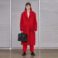 Windbreaker Winter 2020 S,M,L Long sleeves routine have more cash than can be accounted for commute Single breasted tailored collar raglan sleeve literature Semicircle 25-29 years old Splice, threaded 81% (inclusive) - 90% (inclusive) other wool polyester fiber