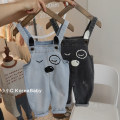 trousers Other / other neutral 80cm,90cm,100cm,110cm,120cm spring and autumn trousers Korean version No model rompers middle-waisted Cotton denim Open crotch Cotton 95% other 5% K177 dveeakids 12 months, 9 months, 18 months, 2 years old, 3 years old, 4 years old, 5 years old, 6 years old