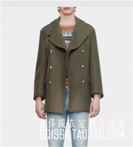 Jacket Other / other Fashion City thick easy Other leisure autumn Long sleeves Wear out Medium length double-breasted 2017