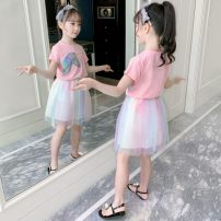 suit Other / other White, pink 110cm,120cm,130cm,140cm,150cm,160cm 12 years old