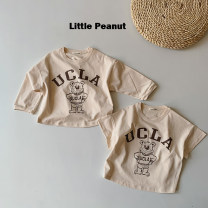 T-shirt Other / other XS,S,M,L,XL neutral cotton Cartoon animation 12 months, 18 months, 2 years old, 3 years old, 4 years old, 5 years old, 6 years old, 7 years old