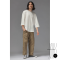 Casual pants Unlimited non cycle other khaki S,M,L,XL Ninth pants go to work Self cultivation