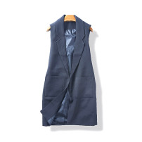 Vest Autumn of 2018 1 Black S M L XL Medium length commute No buckle 25-29 years old 91% (inclusive) - 95% (inclusive) polyester fiber