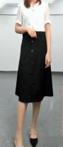 Dress Summer 2021 Black, white L,XL,2XL,3XL,4XL