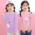 T-shirt Yu en Yibiao 110, Yibiao 120, Yibiao 130, Yibiao 140, Yibiao 150 neutral No season Long sleeves Crew neck Korean version There are models in the real shooting nothing cotton Cartoon animation Cotton 95% polyurethane elastic fiber (spandex) 5% Sweat absorption