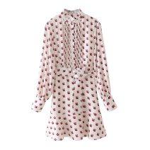 Dress Summer 2021 printing S,M,L lindymeiyi