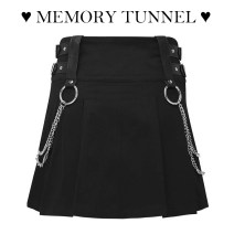 skirt Spring 2021 S,M,L black Short skirt street High waist A-line skirt 18-24 years old 91% (inclusive) - 95% (inclusive) polyester fiber Europe and America