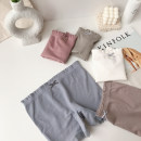 underpants female White, bean paste powder, light brown, fruit green, haze blue Average size Peach Planet 1 other boxer middle-waisted Simplicity Solid color Modal fabric Safety trousers