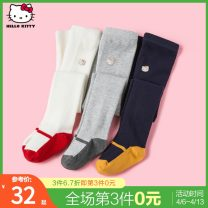 Children's socks (0-16 years old) Pantyhose Hemp grey color matching, red white color matching, navy blue color matching 90 (1-3 years old) 110 (3-6 years old) Bb.park/beibeipark spring and autumn other Other 100% KB034AA02 Autumn 2020