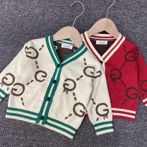 Sweater / sweater Height of 120 yards is 100-110cm, height of 80 yards is 65-73cm, height of 100 yards is 80-90cm, height of 110 yards is 90-100cm, height of 90 yards is 73-80cm cotton male Red, ginger, blue, light brown, off white, scarlet, beige Huhu rabbit leisure time No model Single breasted