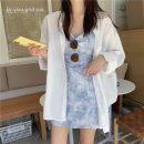 Dress Winter 2016 White shirt, dress S. M, average size Short skirt Two piece set Sleeveless commute High waist routine 18-24 years old Korean version 51% (inclusive) - 70% (inclusive)
