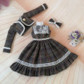 BJD doll zone suit 1/3 Over 3 years old goods in stock Skirt + coat + headdress 3-point size Other / other
