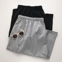 skirt Summer 2021 Average size Black, gray Mid length dress commute High waist Type A 18-24 years old 51% (inclusive) - 70% (inclusive) Korean version