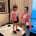 Parent child fashion Pink Black Women's dress Female neuter ONLYKISS 80cm 90cm 100cm 110cm 120cm 130cm 140cm mom m (85-120kg) Adult L (120-140kg) cmy05 Thin money Solid color cmy05 They were 2 years old, 3 years old, 4 years old, 5 years old, 6 years old, 7 years old and 8 years old