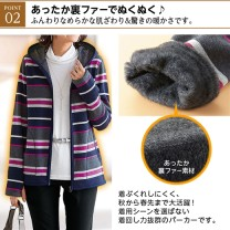 short coat Autumn of 2018 M,L,LL,3L,4L,5L Long sleeves routine routine singleton  other Hood