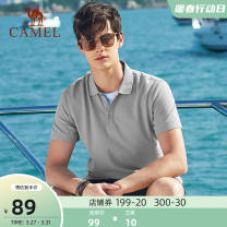 Polo shirt Camel Youth fashion thin Xbb203069, gray xbb203069, white xbb203069, light blue xbb203069, royal blue xbb203069, black xbb203069, light green xbb203069, pink M L XL XXL XXXL standard Other leisure summer Short sleeve T0S273903 tide routine youth Cotton 100% other cotton No process other