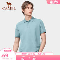 Polo shirt Camel Youth fashion thin S M L XL XXL XXXL standard go to work summer Short sleeve NT0S2WV114 Basic public routine youth Cotton 60% polyester 40% other Cotton polyester nothing other Summer 2021 Same model in shopping mall (sold online and offline)