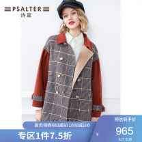 woolen coat Autumn 2020 36 38 40 42 44 caramel wool 95% and above routine Long sleeves routine Straight cylinder 6C50380380 Psalter / poem 30-34 years old Wool 100% Pure e-commerce (online only)
