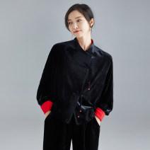 jacket Spring 2021 Average size black Over 35 years old