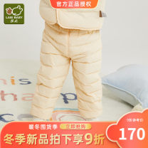 Down pants 90% Labi baby / Rabbi nylon Male and female White duck down 73cm 80cm 90cm 100cm 110cm winter middle-waisted 12 months, 6 months, 9 months, 18 months, 2 years, 3 years Polyamide fiber (nylon) 100% Winter 2020