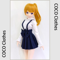 BJD doll zone suit 1/3 Over 14 years old goods in stock Lace shirt, suspender pleated skirt, pure hand-made, production period of about 3 days, if you need wholesale, please click the owner to talk about Cortindoll / cortin 4 points
