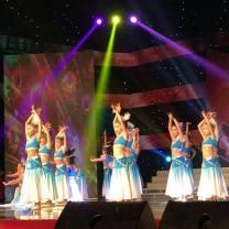 Children's performance clothes Pink, sky blue female 100cm,110cm,120cm,130cm,140cm,150cm,160cm