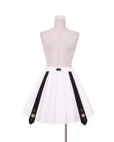 skirt Fall 2017 0, 1 White + black ribbon skirt To Alice