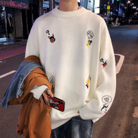 T-shirt / sweater Zijun Youth fashion White, blue, green, black, dinosaur green, dinosaur white, dinosaur black, zoo white, zoo black, zoo green, > Click to view the size < (select the color above) M,L,XL,2XL routine Socket Crew neck Long sleeves autumn easy 2019 leisure time teenagers routine