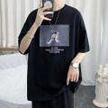 T-shirt Youth fashion Black, yellow, white, > Click to view size < (select color in front) routine S,M,L,XL,2XL,3XL Zijun Short sleeve V-neck easy Other leisure summer teenagers routine like a breath of fresh air 2020 other No iron treatment