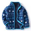 Plain coat Other / other neutral 90cm,100cm,110cm,120cm,130cm,140cm,150cm,160cm winter leisure time Zipper shirt No model Plush nothing Dot flannelette High collar E82 Polyester 100%