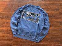 Sweater Youth fashion Others blue S,M,L,XL Animal design Socket routine Crew neck autumn easy leisure time youth tide routine cotton printing No iron treatment European and American style