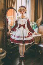 Lolita / soft girl / dress Sand of time Lolita 2XL,L,M,S,XL