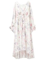 Nightdress Other / other White light blue Average size Plants and flowers