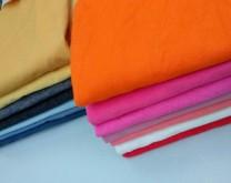 Fabric / fabric / handmade DIY fabric Denim Loose shear piece Solid color clothing