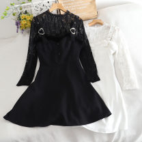 Fashion suit Autumn 2020 S, M Black, white 18-25 years old 30% and below