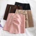 Casual pants Pink , Apricot , coffee , black S,M,L Summer 2020 shorts Wide leg pants High waist commute routine 18-24 years old Korean version