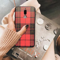 Mobile phone cover / case mokories Simplicity Huawei / Huawei Maimang 6 red lattice maimang 6 red lattice + star tassel maimang 5 red lattice maimang 5 red lattice + star tassel maimang 4 red lattice maimang 4 red lattice + star tassel Huawei maimang 6 red lattice Protective shell Soft glue Maimang 6