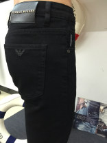 Jeans Youth fashion Power cow 28 29 30 31 32 33 34 35 36 38 40 black thick Micro bomb Heavy denim Power cattle 9324 trousers Travel? Cotton 98% other 2% winter youth middle-waisted Slim feet tide 2016 Little straight foot zipper Water wash stone wash / stone grinding bleaching and dyeing Five bags