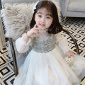 Dress As shown in the figure female Other / other 100, 110, 120, 130, 140 Polyester 100% spring and autumn Korean version Long sleeves Solid color other A-line skirt AQ052 Class B Three, four, five, six, seven, eight, nine Chinese Mainland