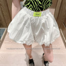 skirt Summer 2021 S,M,L Black, white Short skirt commute Natural waist A-line skirt Solid color Type A 18-24 years old D3202 51% (inclusive) - 70% (inclusive) other LADIES FIRST polyester fiber Splicing Korean version 201g / m ^ 2 (including) - 250G / m ^ 2 (including)